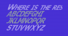 Where is the rest Italic