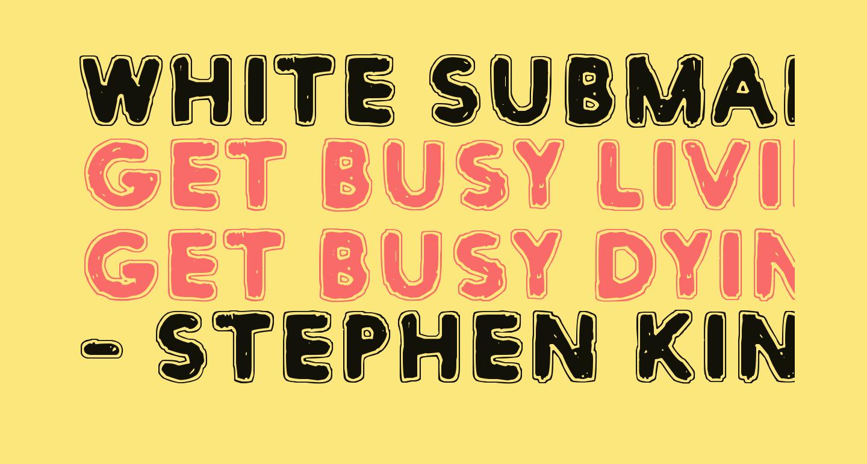 White Submarine