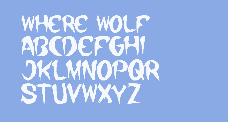 where wolf