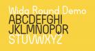 Wida Round Demo