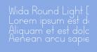 Wida Round Light Demo
