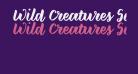 Wild Creatures Sample