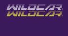 Wildcard Gradient Italic