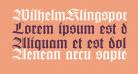 WilhelmKlingsporGotisch Wd
