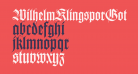 WilhelmKlingsporGotisch