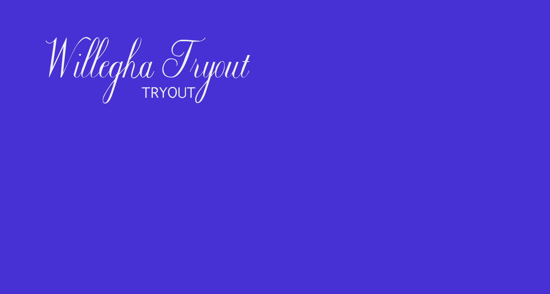 Willegha Tryout