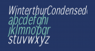 WinterthurCondensedOblique