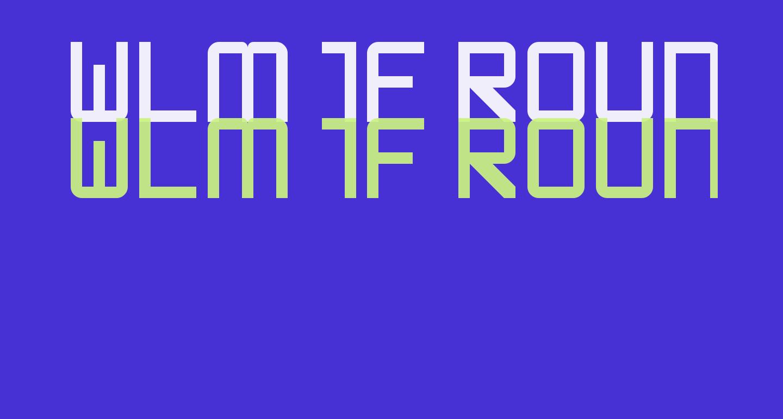 WLM 1F Round Sans Regular