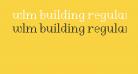 WLM Building Regular