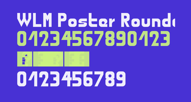 WLM Poster Rounded Regular