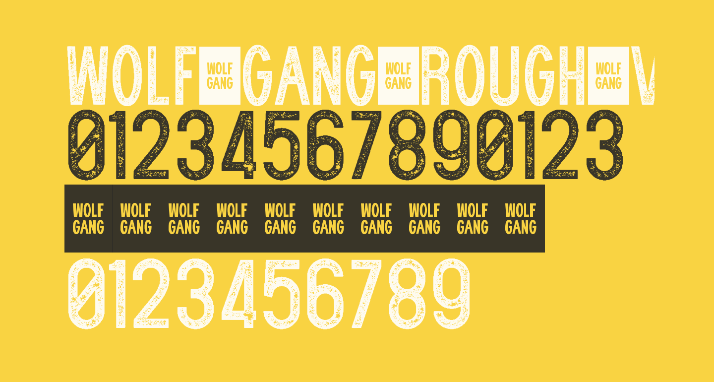 WOLF GANG ROUGH VINTAGE