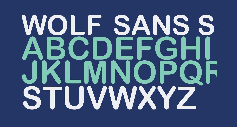 Wolf Sans SC Regular