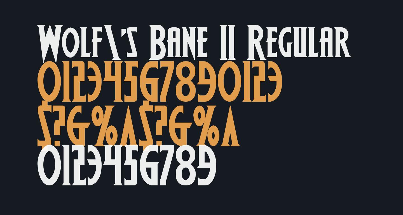 Wolf's Bane II Regular