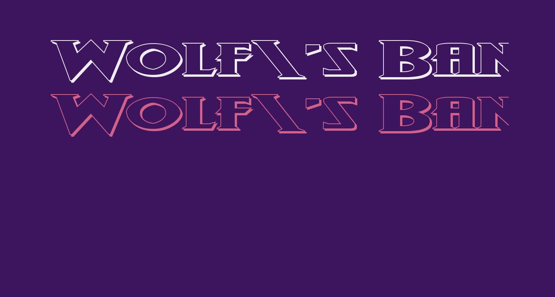 Wolf's Bane II Super-Expand 3D