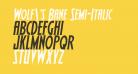 Wolf's Bane Semi-Italic