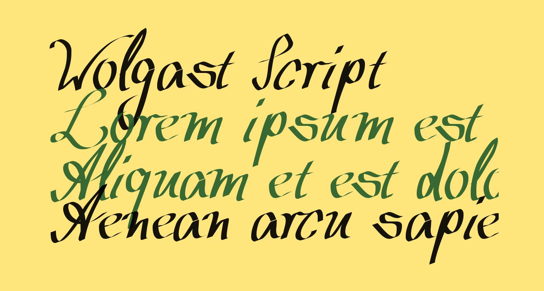 Wolgast Script