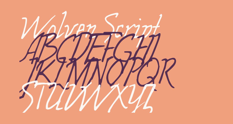 Wolven Script