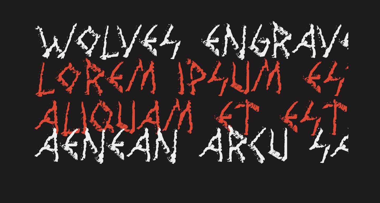 Wolves Engraven