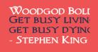 Woodgod Bold Expanded