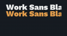 Work Sans Black