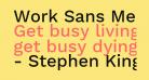 Work Sans Medium