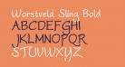 Worstveld Sling Bold