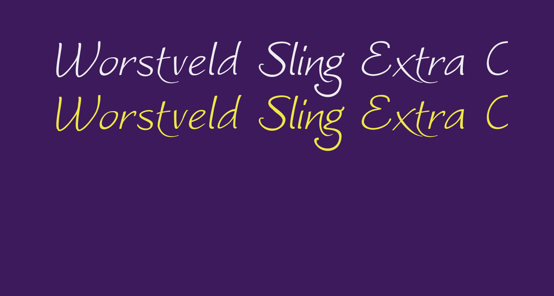 Worstveld Sling Extra Oblique