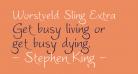 Worstveld Sling Extra