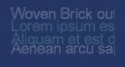 Woven Brick outline
