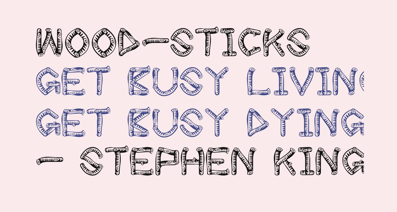 wood-sticks