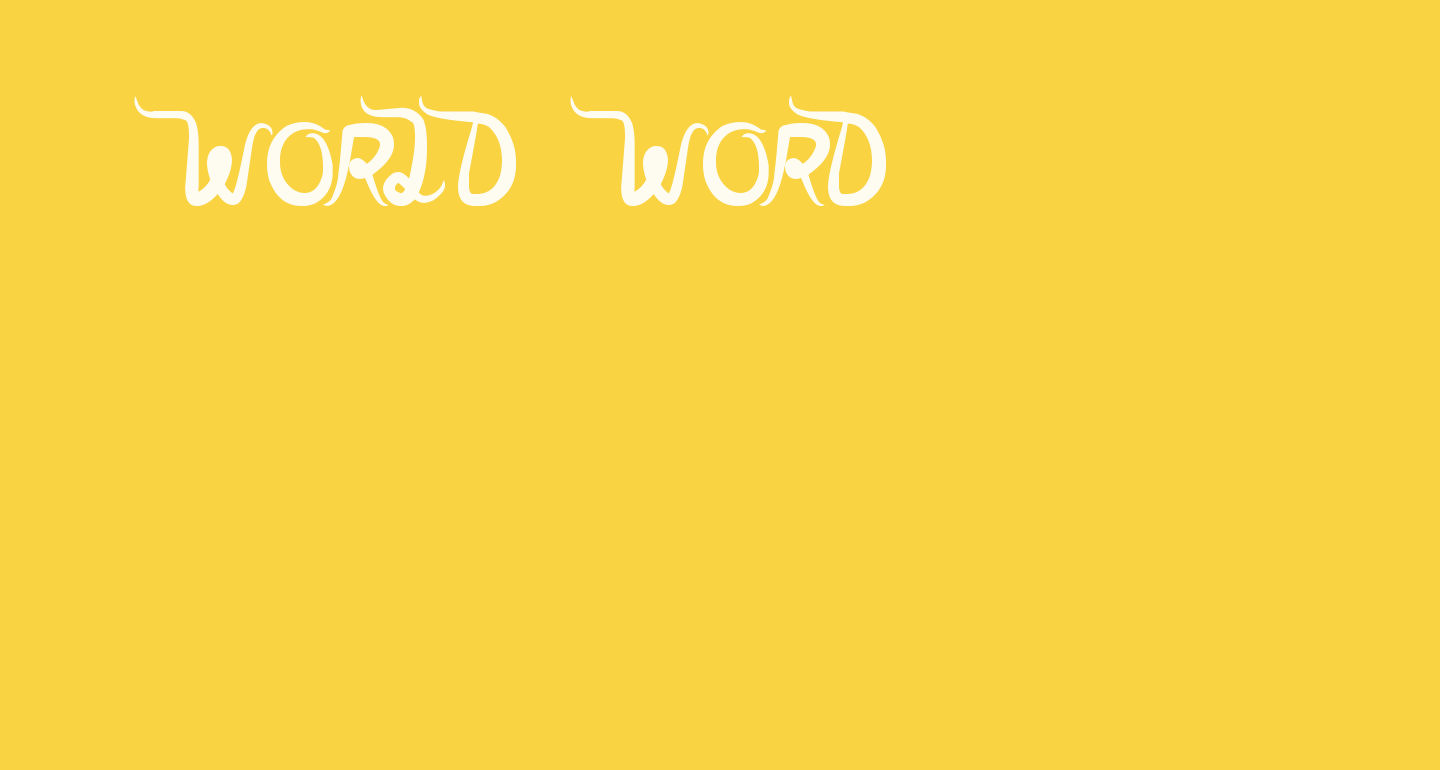 world word