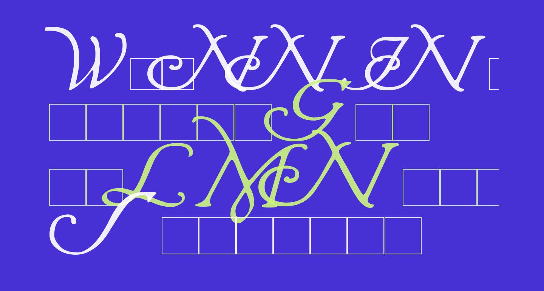 Wrenn Initials