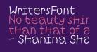 WritersFont