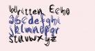 Written Echo