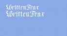 WrittenFrax