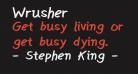 Wrusher