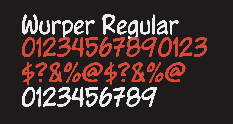 Wurper Regular