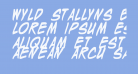 Wyld Stallyns Bold