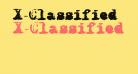 X-Classified