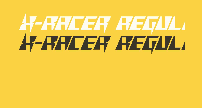 X-Racer Regular