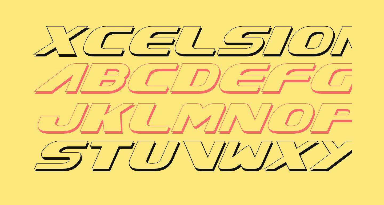 Xcelsion Shadow Italic