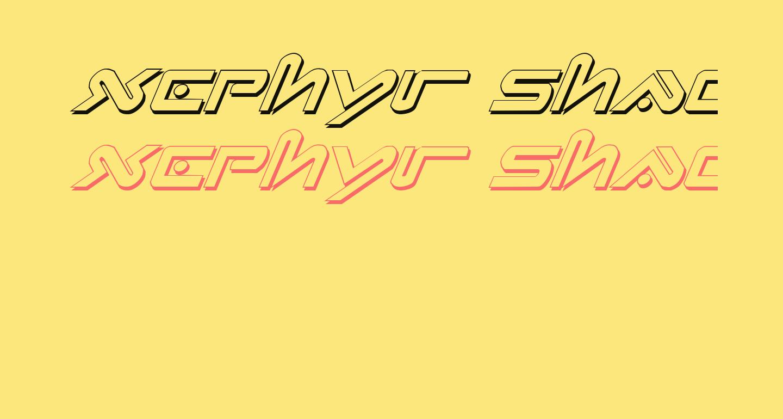 Xephyr Shadow Italic