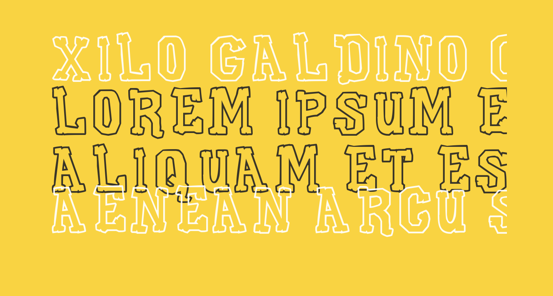 Xilo Galdino Cast