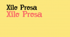 Xilo Prosa