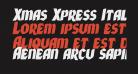 Xmas Xpress Italic