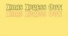 Xmas Xpress Outline