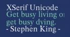 XSerif Unicode