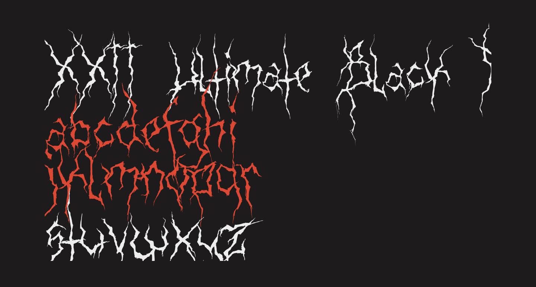 XXII Ultimate-Black-Metal Fallen-Angel