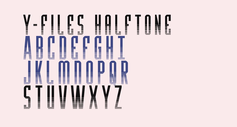 Y-Files Halftone