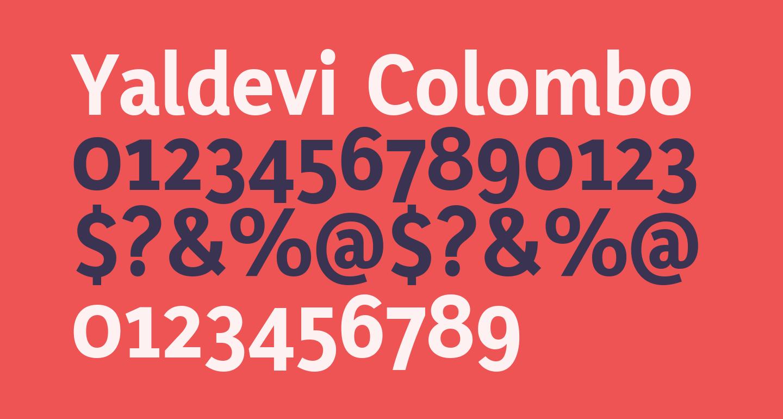 Yaldevi Colombo Bold